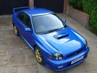 Subaru Impreza WRX STI UK Prodrive PPP 2002 86420 Miles Only 1 Owner From New