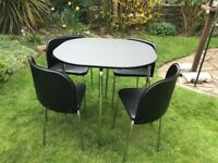 Hygena Kitchen Table & 4 Chairs