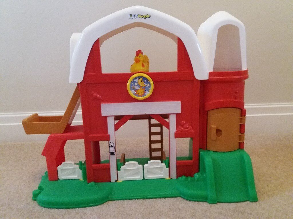 Fisher Price World Of Little People Animal Sounds Farm In Congleton