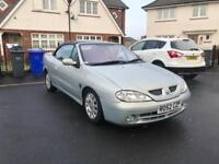 Renault Megane Convertible 1.6, Cheap To Run And Insure