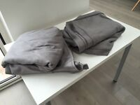 Extorp sofa bed 2 seater covers grey