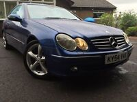 *12 MONTHS WARRANTY*FULL LEATHER*CRUISE*FSH*2004(54)MERCEDES CLK270 CDI AVANTGARDE AUTOMATIC COUPE*