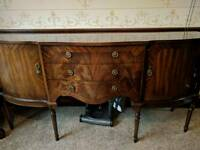 Vintage Flame Mahogany Sideboard