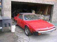 1982 Fiat Other x1/9 bertone Coupé (2 portes)