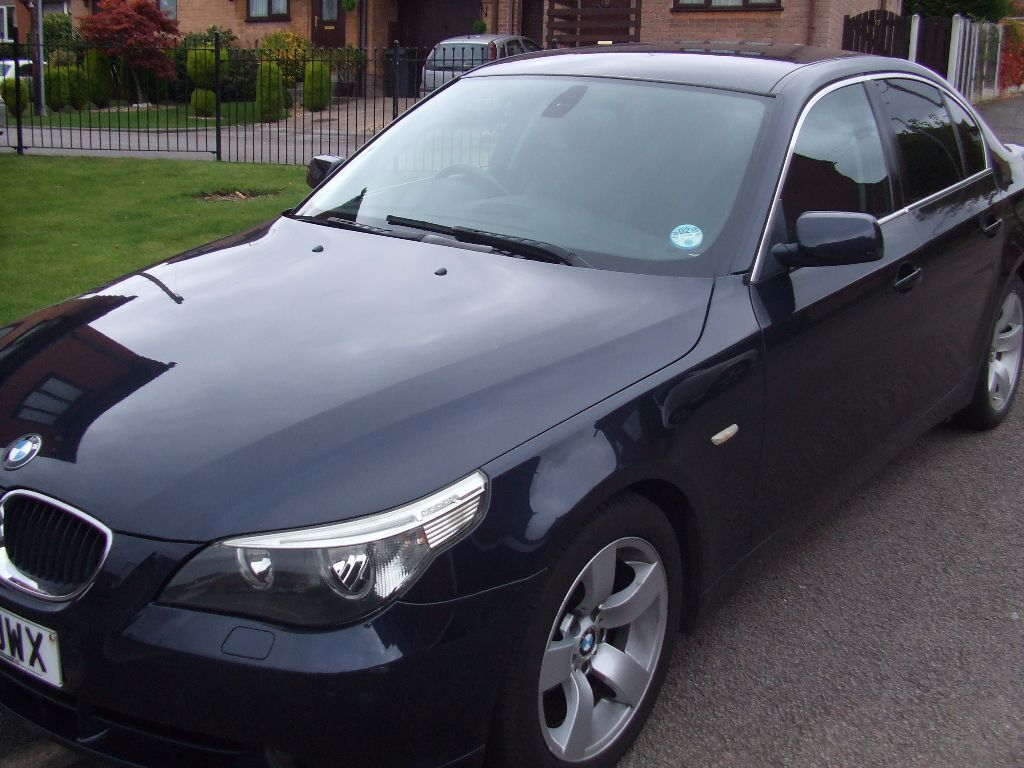 2005 BMW 520D SE BLUE