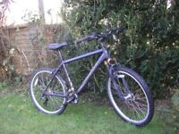 marin pioneer trail,24 speed,front suspension alloy,little or no use,100 percent