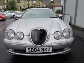 Jaguar S-Type 2.5 v6 sport plus (silver) 2004