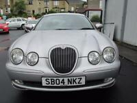 Jaguar S-Type 2.5 v6 sport plus (silver) 2004