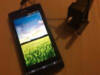 Sony Xperia S + charger + cover - Good condition - Built-in Memory 32 GB - Camera 12 Megapixels