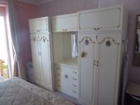 Vintage bedroom furniture set