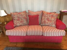 2 and 3 seater settees made by Reid's.