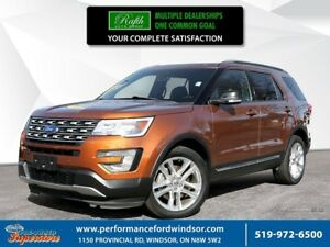 2017 Ford Explorer XLT ***Captain's chairs, leather, NAV***