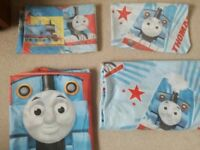 Two Thomas the Tank Engine single quilt cover sets / child quilt covers