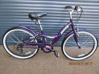 CHILDS JAMIS CAPRI LIGHTWEIGHT ALUMINIUM BIKE IN EXCELLENT ALMOST NEW CONDITION. SUIT APPROX. AGE 9+