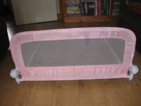 MOTHERCARE BED RAIL in PINK