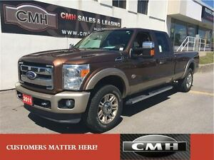 2011 Ford F-250 KING RANCH DIESEL 4X4 NAV CAM ROOF LEATH *CERTIF
