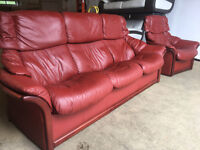 Ekornes stressless Reno 3+1 recliners sofa, couch, suite DELIVERY AVAILABLE