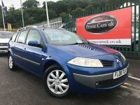 2008 (08 reg) Renault Megane 1.9 dCi FAP Dynamique 5dr Turbo Diesel Estate 6 Speed Manual