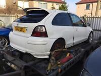 MG ZR 1.8 VVC - Breaking for spares