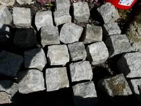 """110x 4"""" granite cubes"""