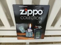 ZIPPO LIGHTER Issue No 9: + Magazine (Collectors Item)