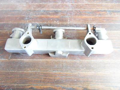 Vintage Chevy 216 235 261 Fenton Edmunds Offy Aluminum Intake Manifold 2X1 6 Cyl