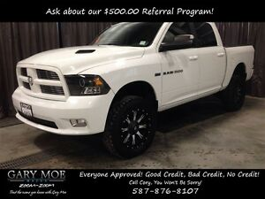 2011 Dodge Ram 1500 Sport Crew Cab 4x4/Lifted/Leather