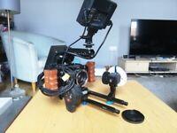 Blackmagic Micro Cinema Camera with rig & accessories!