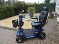 van os 8mph mobility scooter