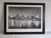 Henri Silberman New York picture print in bespoke black wooden frame
