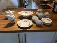 Royal Crown Derby Posie 23 piece tea set