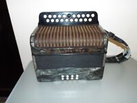 A Lovely old Double Ray BC Tunning Accordion £325