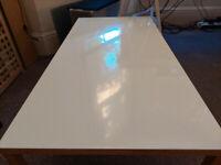 Habitat white coffee table