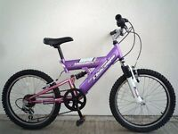"(2201) 20"" CHICAGO GIRLS CHILD MOUNTAIN BIKE BICYCLE Age: 7-10, 125-140 cm"