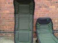 Camping or fishing beds very good condition can be used as a seat or bed