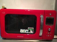 Daewooo Retro microwave