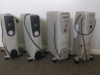 FOUR Oil Free Heaters. two with Timer(2500W) 15£ each or all four for 50£