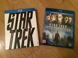 Star Trek 1 & 2 Bluray