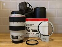 Canon EF 70-300mm f/4-5.6 L IS USM in excellent condition