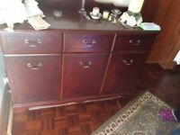 Bargain**** mahogany side board