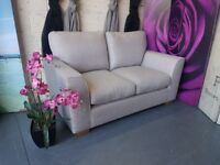 M&S 2 Seater Sofa in light Grey