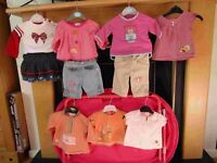 Baby girl clothing 0 to 3 months old - All for £20