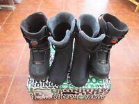 K2 Snowboarding Boots - Triple Boa System - Black - 10.5