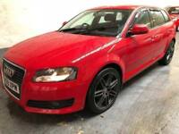 Audi A3 1.9 Diesel Red with S line Wheels and body kit