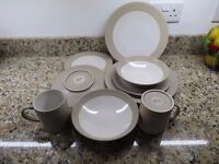 Denby Intro range 8 place Dinner Service