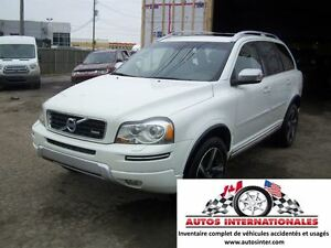 2013 Volvo XC90 3.2 R DESIGN V6 4X4 7 PASSAGERS RACK TOIT SROOF