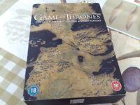 Game of thrones seasons 1 - 3 box set DVD