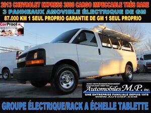 2013 Chevrolet Express 3500 CARGO 87.000 KM  TRES SPECIAL