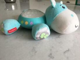 Fisher price night soother with lights