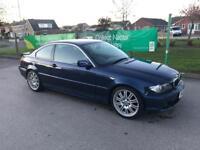 BMW 320ci facelift coupe new mot satnav